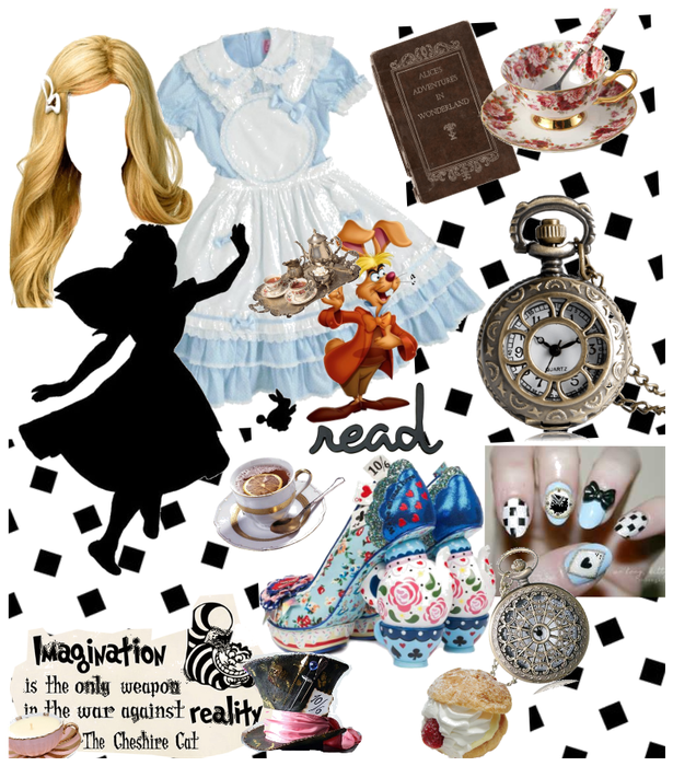# Halloween fictional character # Shoplook # Alice