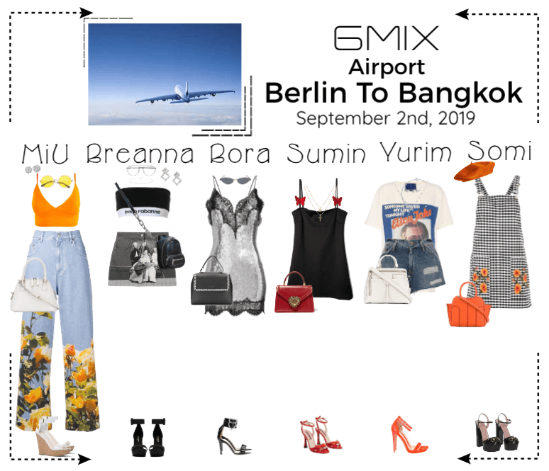 《6mix》Airport | Berlin To Bangkok