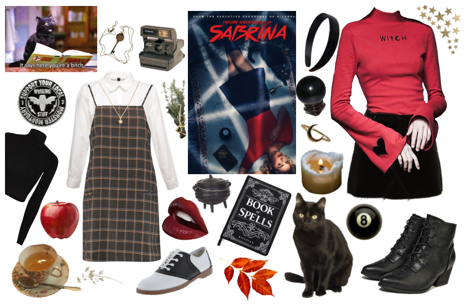 Sabrina Spellman Style Guide