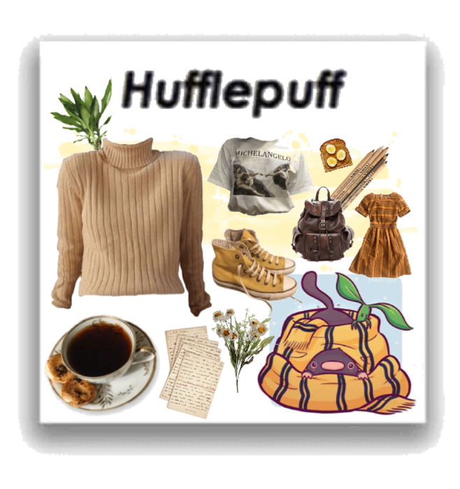 hufflepuff; an aesthetic