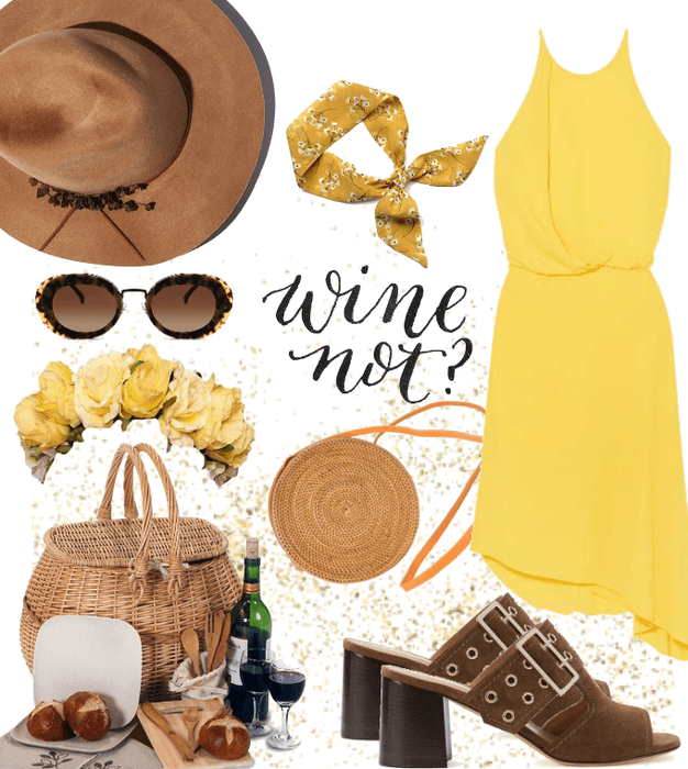 Wine tasting outfit