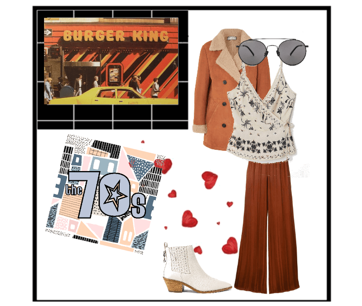70s style outfit