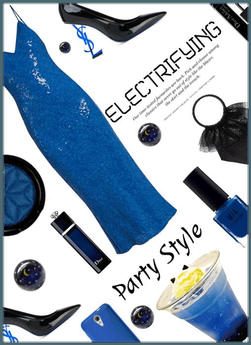 Electrifying! Electric Blue