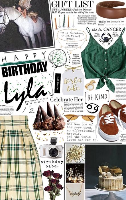 happy birthday lyla. 🎉