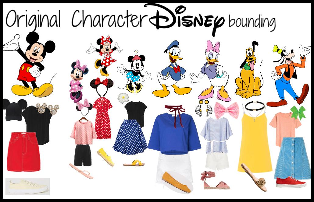 Original Character Group Disneybound