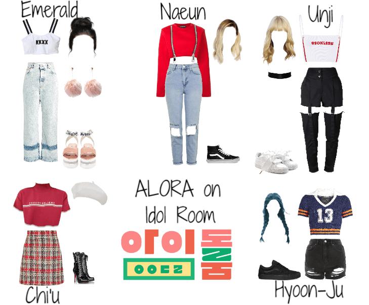 Idol Room || Fake K-Pop Girl Group ALORA