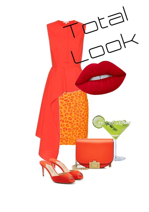Total look  Russet Orange