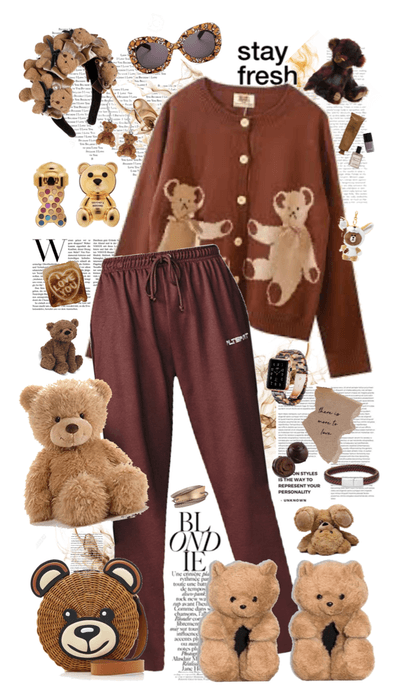 🐻 Hooked on Teddy Bears! 🐻