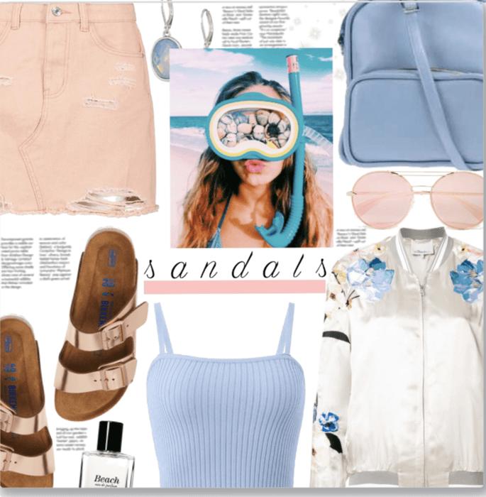 Beach 🌊 Summer Sandals 👡