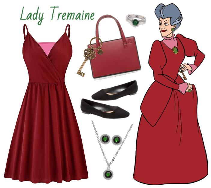 Lady Tremaine outfit - Disneybounding