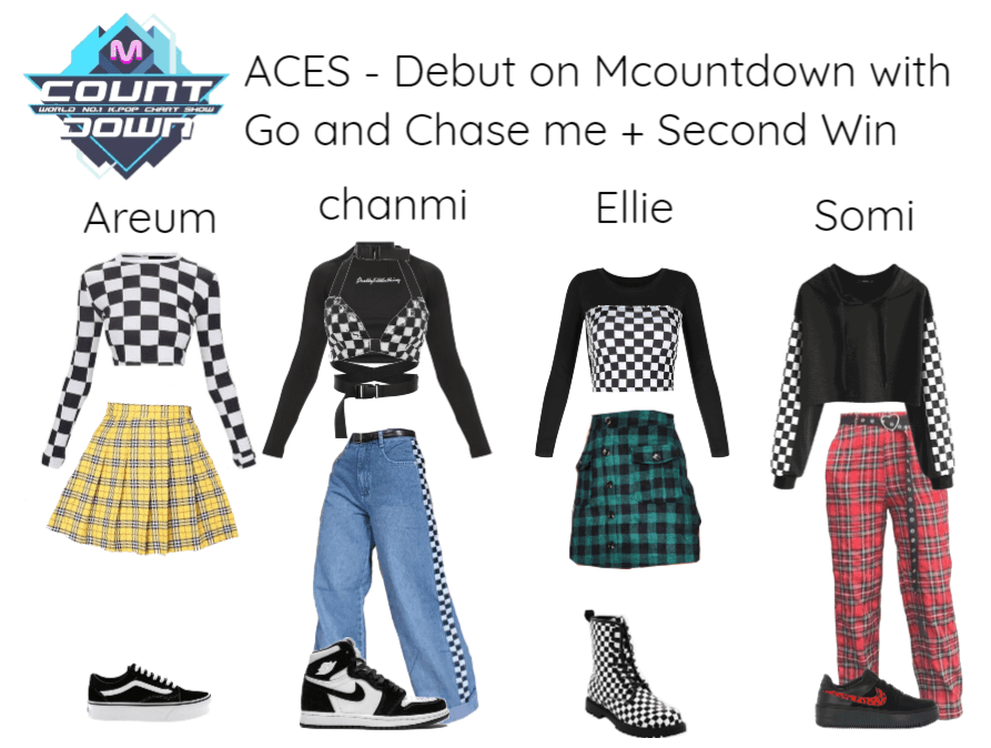 [ACES] Debut on Mcountdown + 2nd win