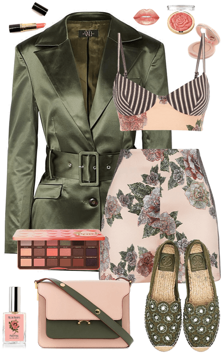 Peach & Peridot Spring Set