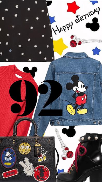 happy birthday Mickey 🎂