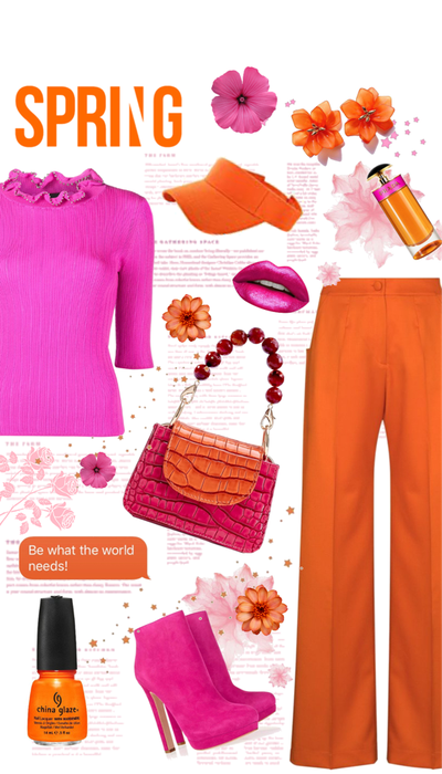 Ultra Pink and Blazing Orange!