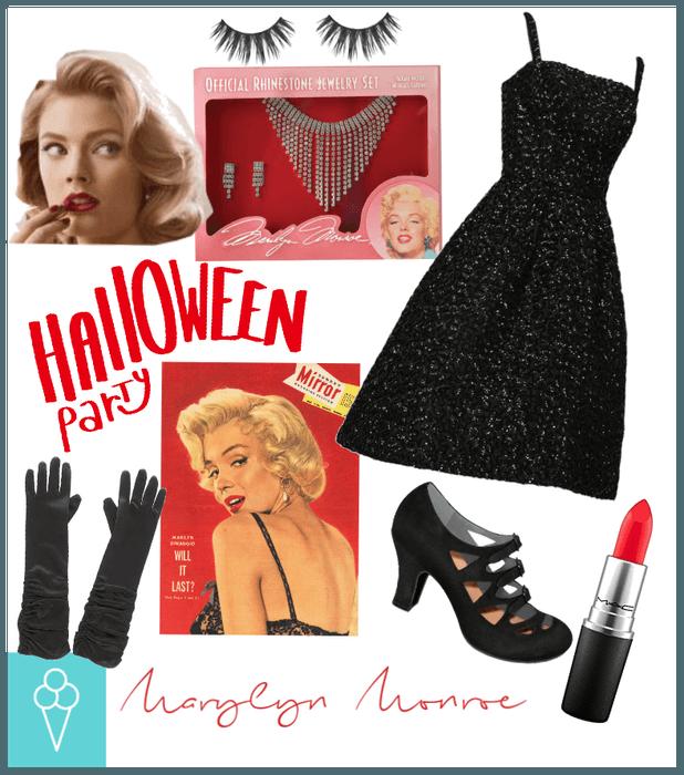# Halloween costume Diy # Shoplook # Marilyn Monro