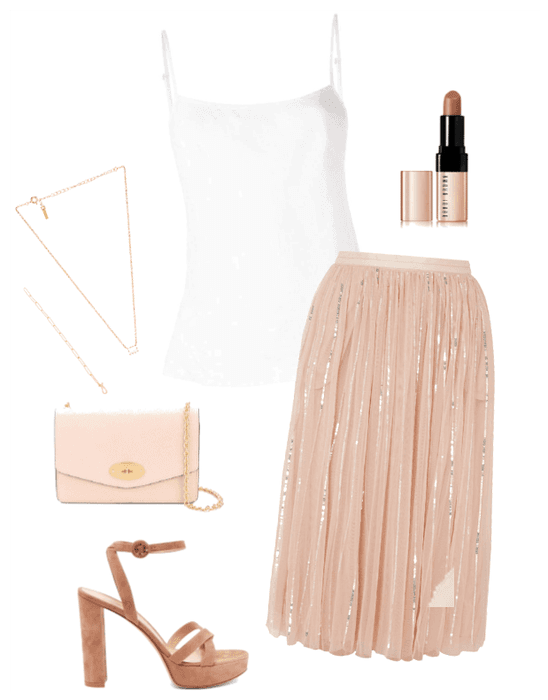 Phoebe party outfit #1
