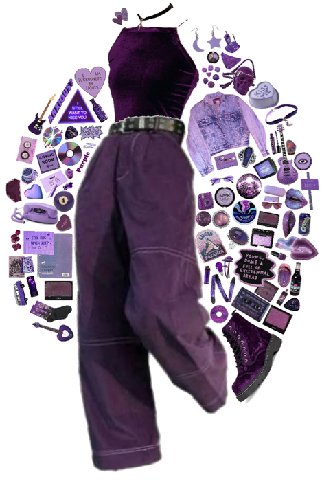 purple monochrome 💜