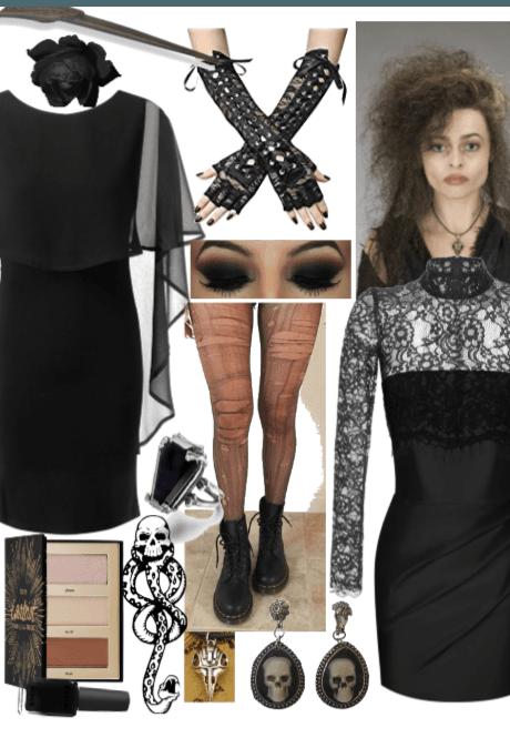Bellatrix Lestrange (B&W#17)