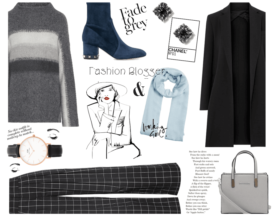 Winter Work Outfit: Fashion Blogger