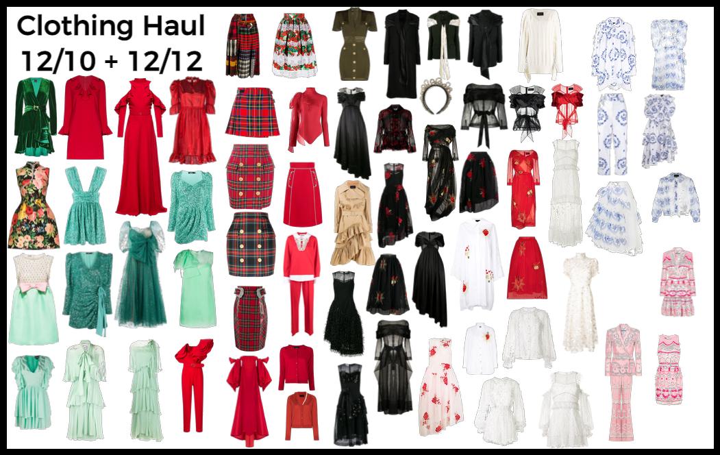 Clothing Haul 12/10 + 12/12