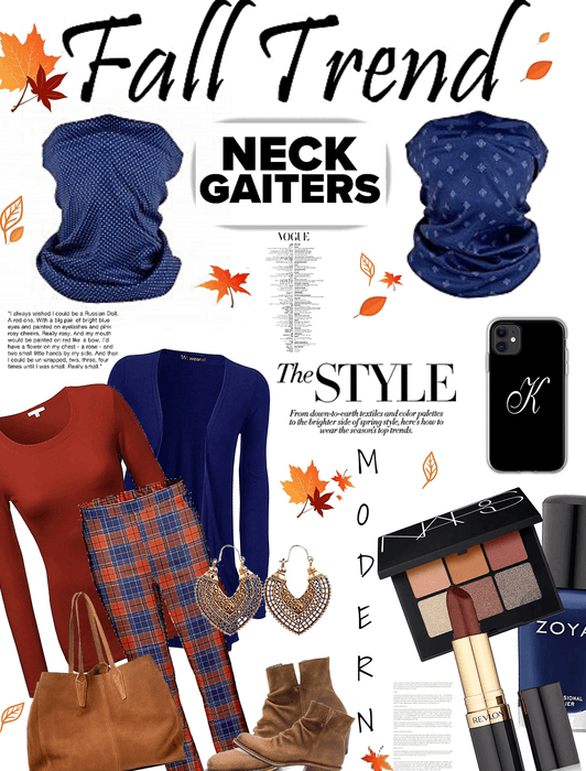Fall trend neck gaiters
