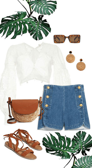 breezy summer outfit