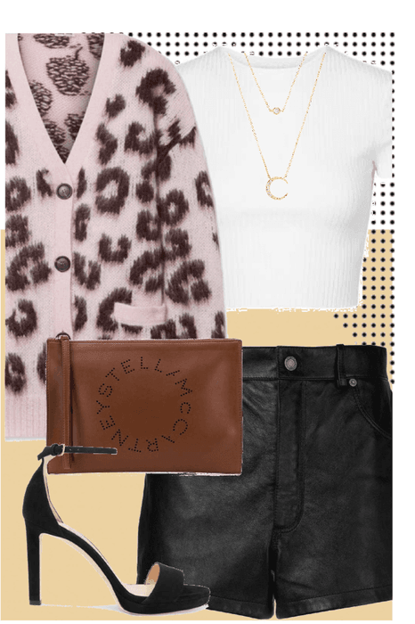 leopard &leather
