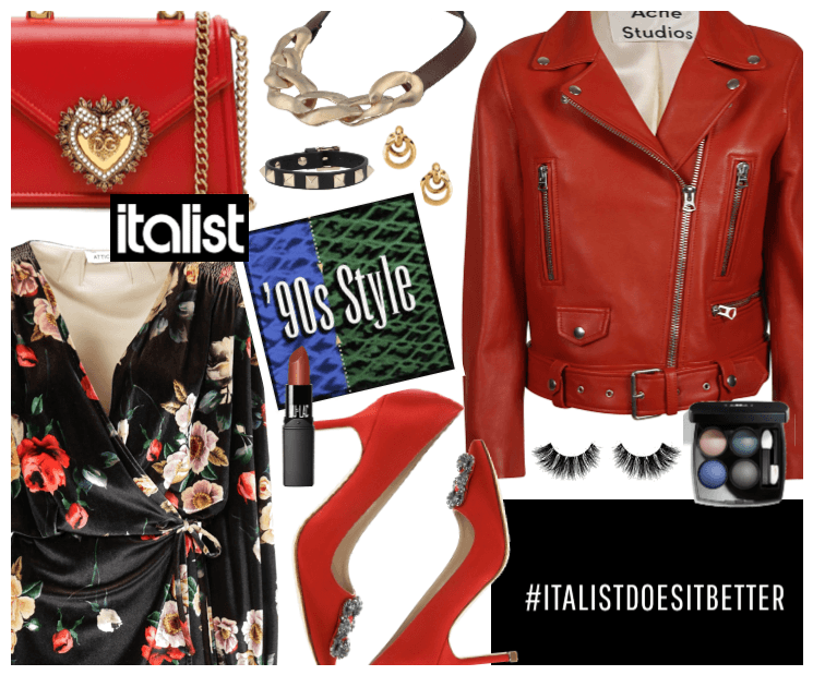 90s style with Italist.com