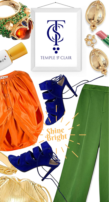 shine bright with Temple St. Clair