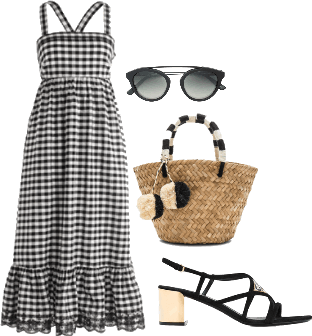 Mexican Vacation Gingham Style