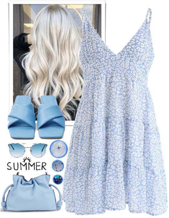 Blue summer!