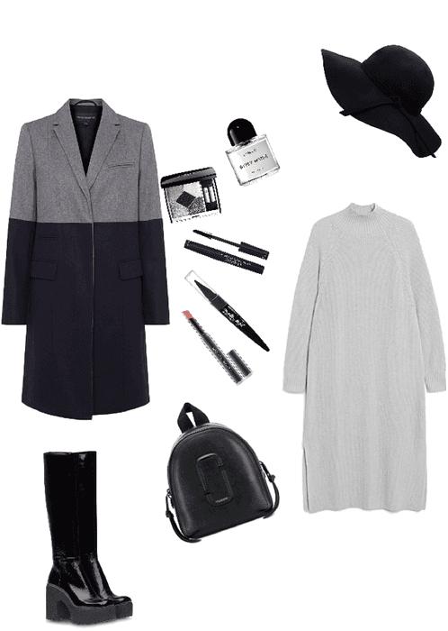 grey days grey clothes