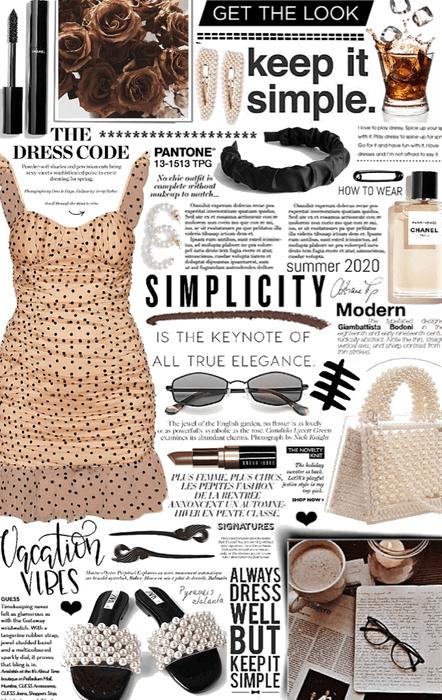 simple summer dress. 🥃
