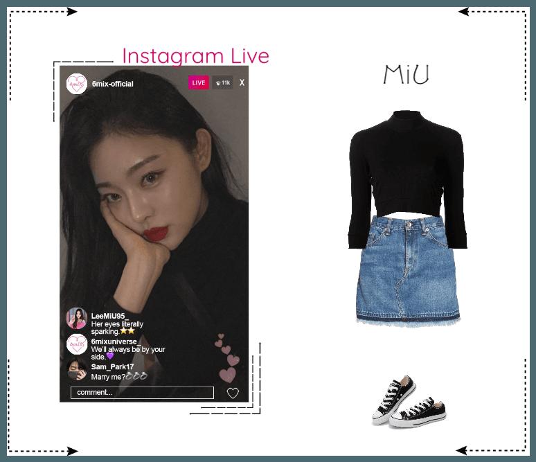《6mix》Instagram Live - MiU