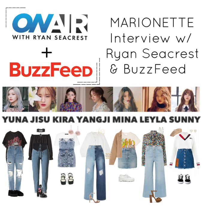 {MARIONETTE} Interview's w/ Ryan Seacrest & Buzz Feed.