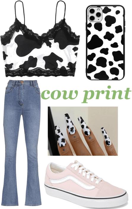 Cow print Challange