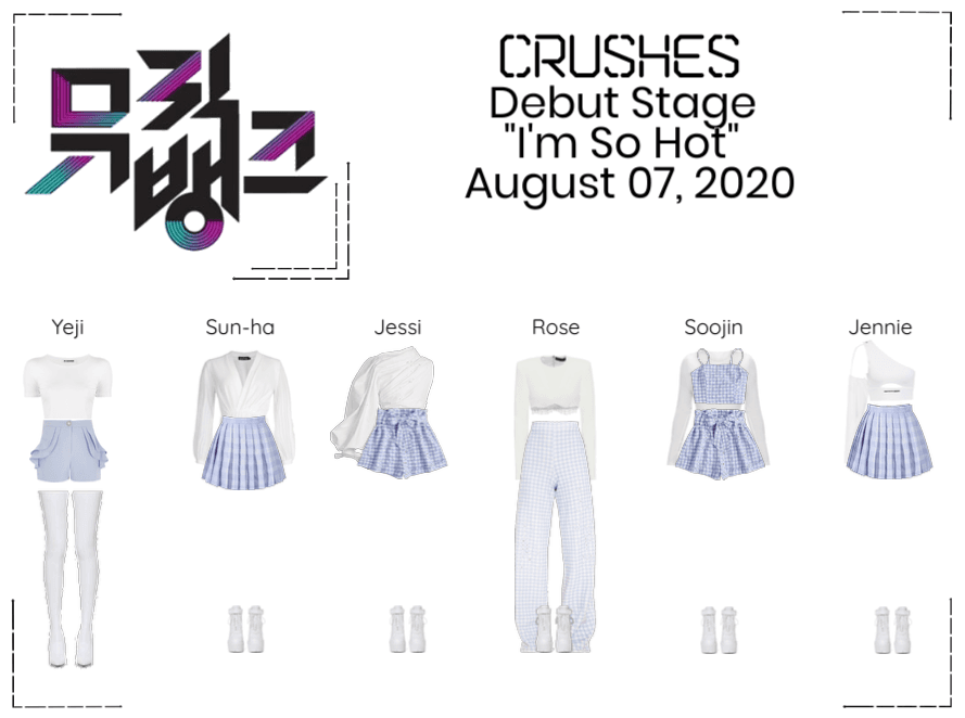 """Crushes (호감) """"I'm So Hot"""" Debut Stage"""