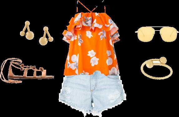 Bling Pretty orange