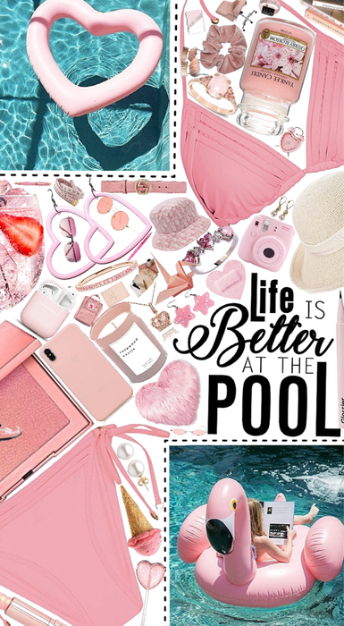 life is better at the pool!💓