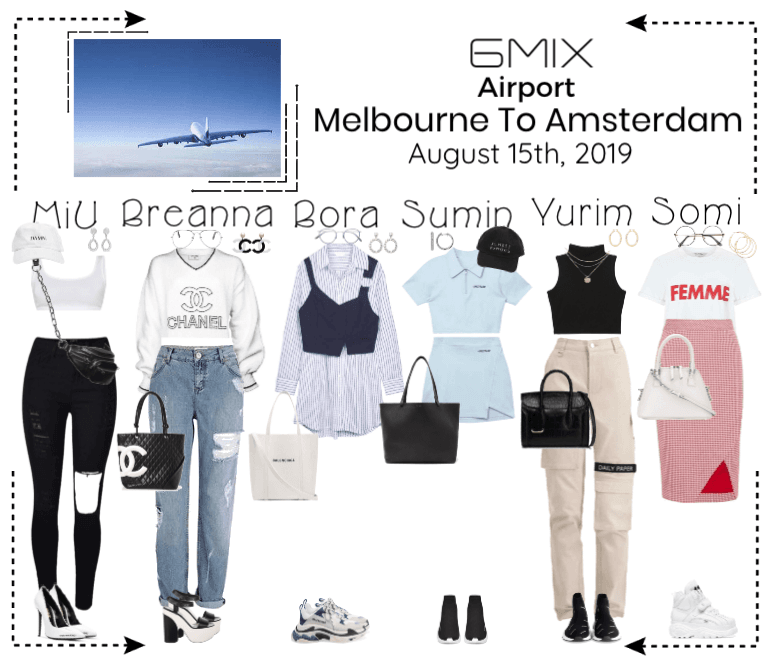 《6mix》Airport   Melbourne To Amsterdam