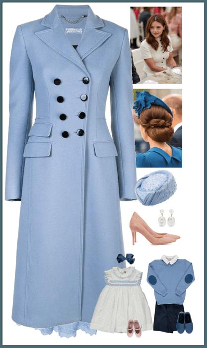 The Duchess of Cambridge * Isabella's Christening