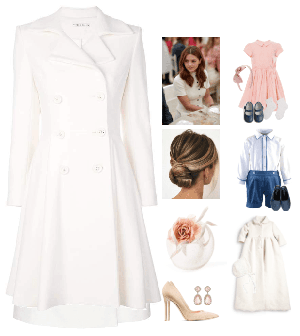 The Duchess of Cambridge * Elizabeth's Christening