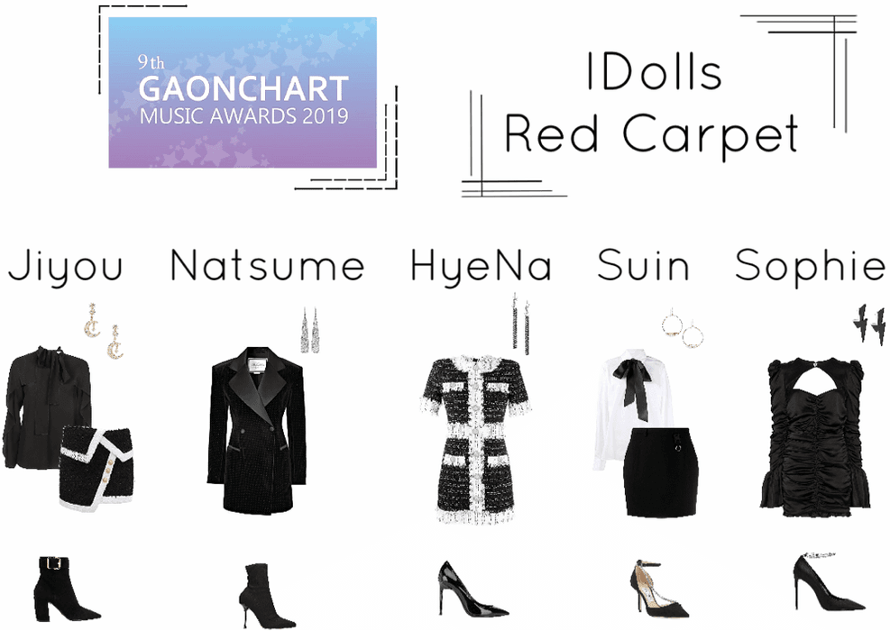 IDolls 9th Gaon Chart Awards Red Carpet