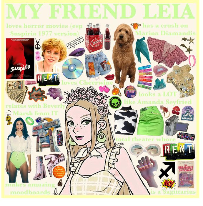 MY FRIEND LEIA