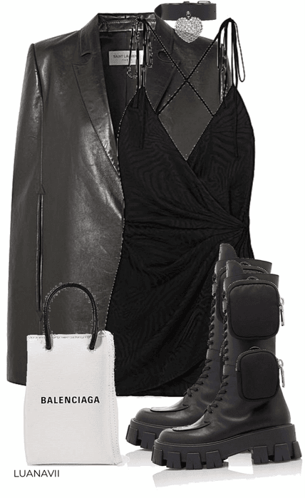 How to style: Prada combat boots