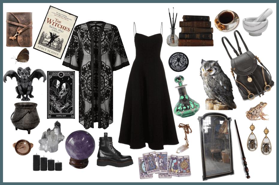 Dark Witch Girl