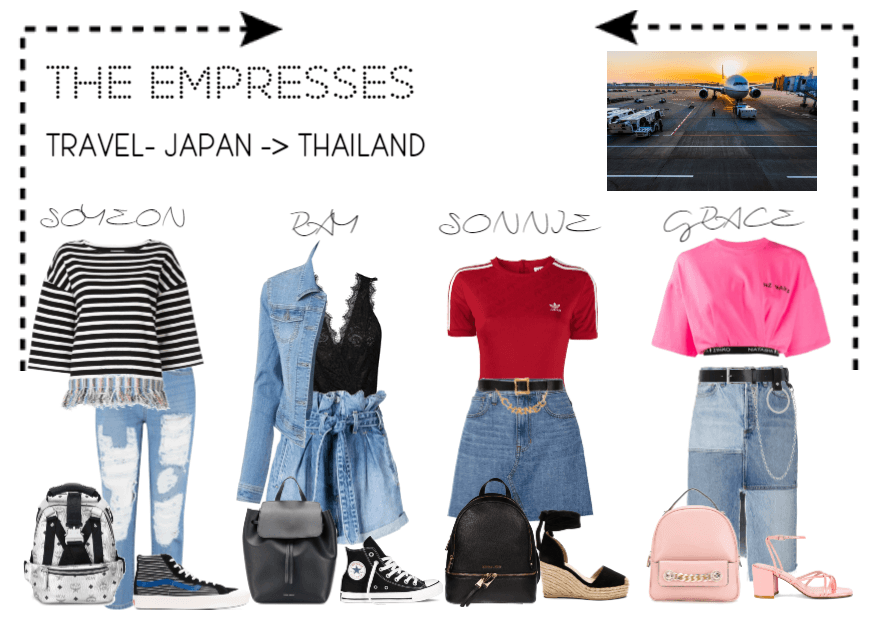[THE EMPRESSES] TRAVELS TO THAILAND