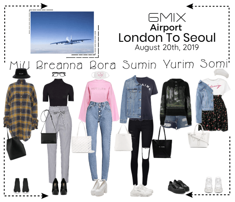 《6mix》Airport | London To Seoul