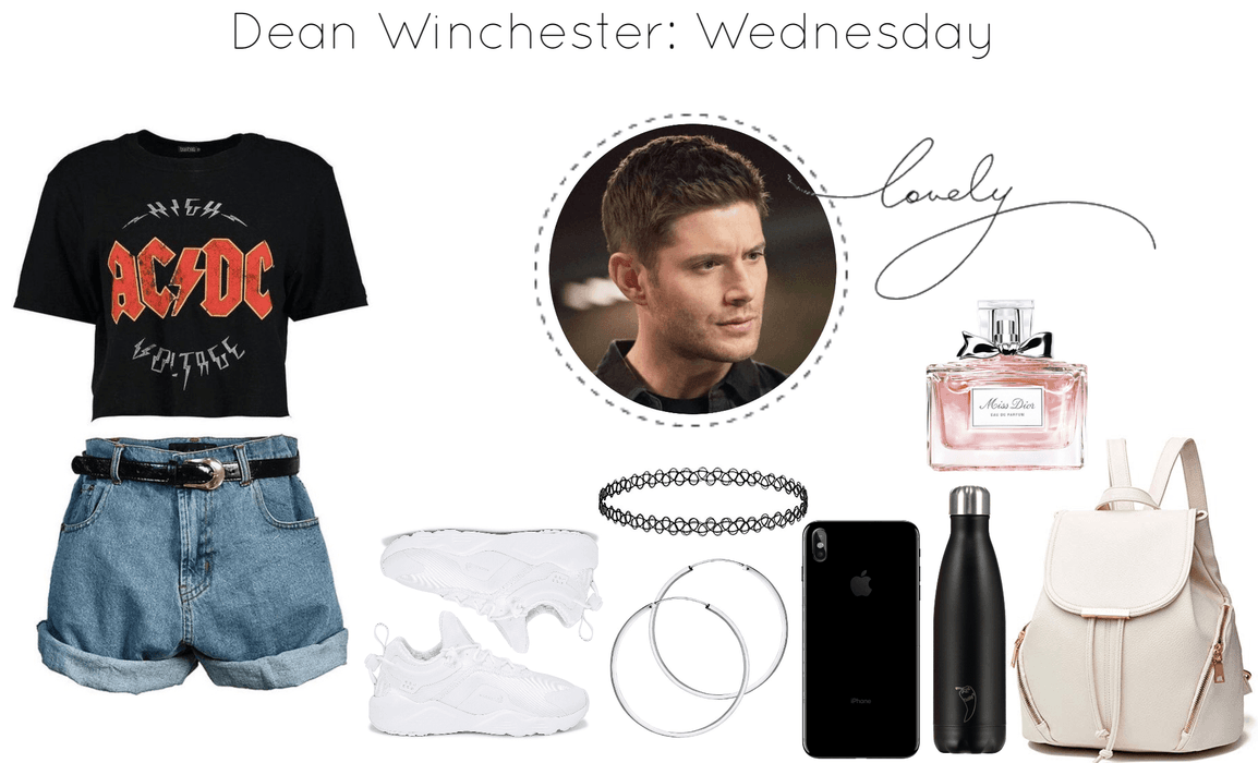 Dean Winchester: Wednesday School Outfit