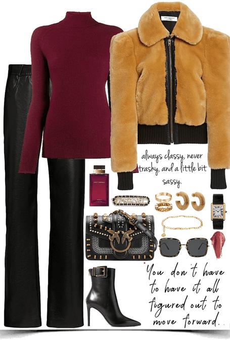 luxury,elegance winter look